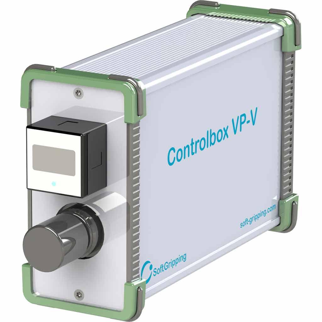 pneumatic control box front